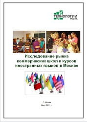 Исследование московского рынка школ иностранных языков. Готовый Отчет